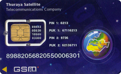 Thuraya ECO SIM-card - Prepaid Plan
