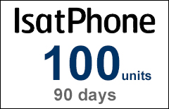 Inmarsat IsatPhone 100-unit Voucher