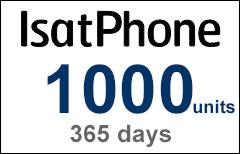 Inmarsat IsatPhone 1000-unit Voucher