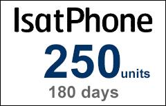 Inmarsat IsatPhone 250-unit Voucher