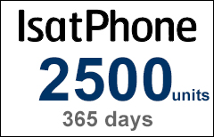 Inmarsat IsatPhone 2500-unit Voucher