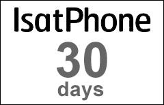 Inmarsat IsatPhone 30-day Voucher