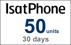 Inmarsat IsatPhone 50-unit Voucher