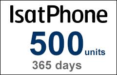 Inmarsat IsatPhone 500-unit Voucher