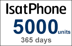 Inmarsat IsatPhone 5000-unit Voucher