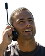 How to hold a satellite phone correctly