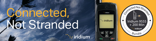 Iridium 9555 Satellite Phone for emergency, travel, outdoor, sailing
