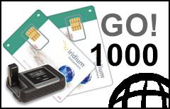 Iridium GO! 1000-min Prepaid Plan - SIM-card