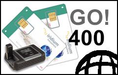 Iridium GO! 400-min Prepaid Plan - SIM-card