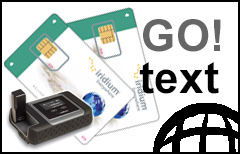 Iridium GO! Text & Call Prepaid Plan - SIM-card