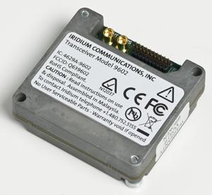Iridium 9602 SBD Satellite Transceiver Module