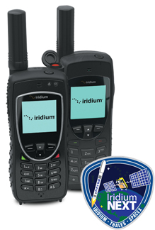 Iridium Extreme and Iridium 9555 satellite phones