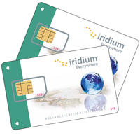 Iridium Prepaid Plans SIM-cards