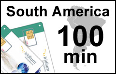 Iridium South America Plan - SIM-card