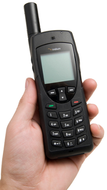 Iridium 9555 Satellite Phone for emergency, travel, outdoor, sailing