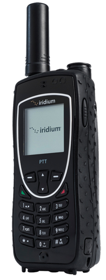 Iridium Extreme PTT Satellite Phone