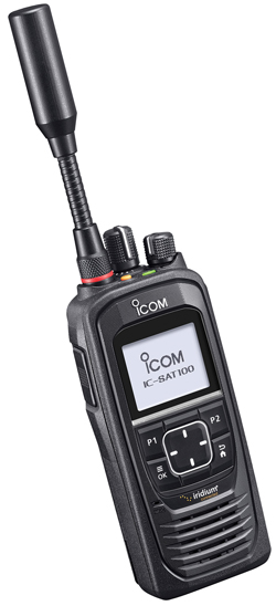 Iridium Icom IC-SAT100 Satellite Radio PTT Handset