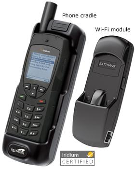 SATTRANS Iridium 9555 Wi-Fi CommStation Dock