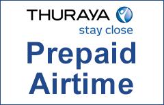 Recharge Thuraya Airtime